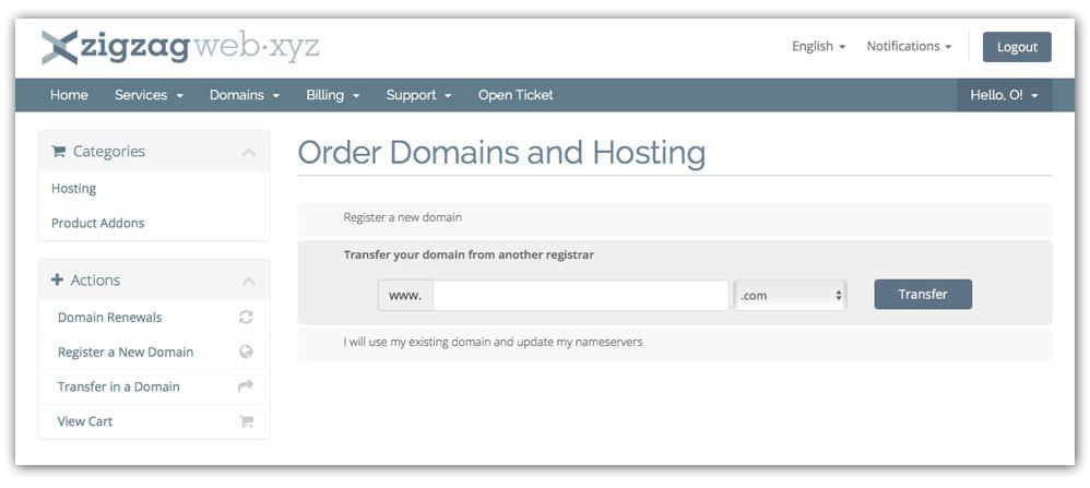 Configure Hosting