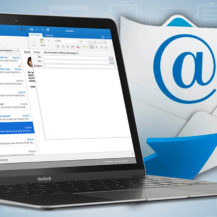 How to set up a email client application
