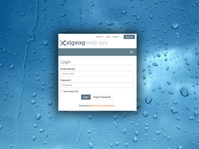 How to login to your zigzagweb client area account