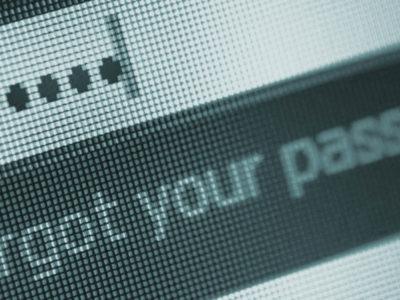 How to reset forgotten password
